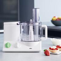 Braun/博朗 FP3010多功能食物调理机料理机 搅拌机家用电动和面机