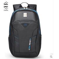 韩版潮旅行包初中学生书包背包商务电脑包男 双肩包男背包女
