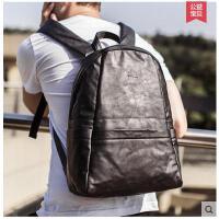 新款旅行背包电脑学院风韩版潮流男包休闲双肩包男包学生书包