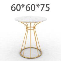 小圆桌北欧沙发边角几小茶几家用现代简约大理石阳台圆桌子客厅创意边几