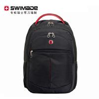 瑞士�刀SWISSGEAR �p肩包��X背包男包 SA-7755 黑色