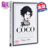 香奈儿:时尚标志的插图世界 英文原版 Coco Chanel: The Illustrated World of a Fashion Icon