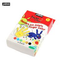 法国贝碧欧Pebeo儿童手指画颜料套装 益智启蒙绘画套装6色633810