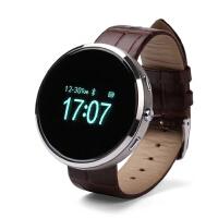 歌迈 D360智能手表穿戴支持安卓 ios系统复古圆形礼品拍摄可插卡通话