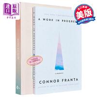 【中商原版】网络红人Connor Franta 自传 2册套装 英文原版 人物传记 A Work in Progress Note to Self 写给自己 油管红人 康纳・福兰特 康康