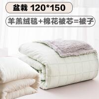 商场同款婴儿被子秋冬小棉被新生儿儿童幼儿园宝宝加厚棉花被四季通用盖被