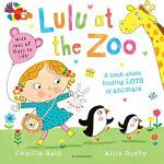 英文原版绘本 Lulu at the Zoo 翻翻书 我爱露露 动物园之旅