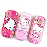 HelloKitty儿童笔袋KT猫女童小学生文具盒笔盒多功能大容量铅笔袋