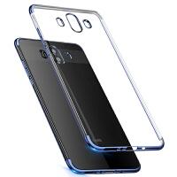 免邮 华为mate10全包半电镀硅胶套手机壳mate10 mate10Pro mate9 mate9pro透明保护套