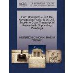 Horn (Heinrich) v. CIA De Navegacion Fruco, S. A. U.S. Supr