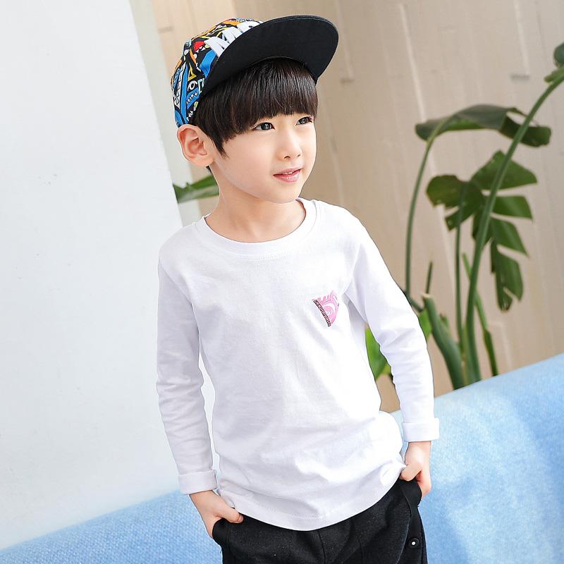 童装男童T恤长袖春装2018新款纯棉 儿童体恤春秋上衣韩版 发货周期:一般在付款后2-90天左右发货,具体发货时间请以与客服协商的时间为准