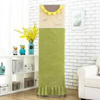 客厅柜式空调罩格力美的通用圆形长方形柜机3匹p立式空调套防尘罩