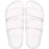 201908141857137122019新款夏天黑色简约时尚潮流白色凉拖鞋家居家用浴室内防滑防水