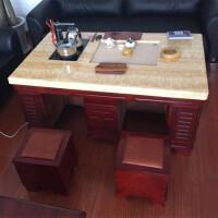 20190402235048797实木天然大理石功夫茶几喝茶桌功能泡茶桌子办公室欧式家具 整装