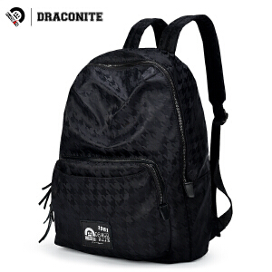 【支持礼品卡支付】DRACONITE个性图案印花潮牌双肩包男女时尚尼龙防水背包潮11062A
