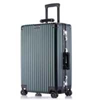 拉杆箱万向轮24寸铝框旅行箱26寸硬箱女行李箱登机箱22