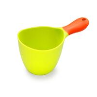 宝贝时代婴儿沐浴水勺 宝宝洗头勺儿童水瓢水舀子塑料杯戏水玩具