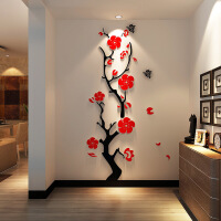 3d立体墙贴客厅墙面墙上贴画玄关走廊墙壁背景墙装饰创意