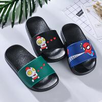 儿童拖鞋夏季男孩软底凉拖鞋卡通男童小孩家居室内洗澡防滑凉拖鞋