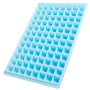 大容量96格安全环保冰格颜色随机96格大号自制冰格冰模冰块盒冻冰块模具家用制冰盒