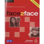 【预订】Face2face Elementary Teacher's Book with DVD 9781107654