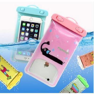 手机防水袋套挂脖溯溪漂流游泳潜水环保透明硅胶男女触屏