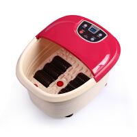 朗悦 LY-801 足浴盆自助滚轮按摩洗脚盆冲浪加热足浴器电动加热泡脚盆包邮