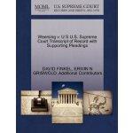 Weersing v. U S U.S. Supreme Court Tran****** of Record wit