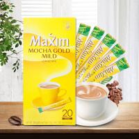 【包邮】韩国进口 麦馨摩卡咖啡 冲饮品 提神下午茶 冲剂饮品饮料 12g*20袋 一盒