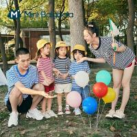 [TOYOYA联名]迷你巴拉巴拉短袖T恤2021夏季新款男童女童纯棉T恤