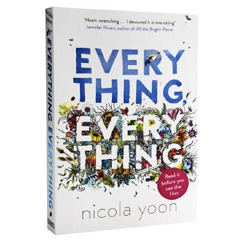 【中商原版】一切的一切 英文原版 英文小说 Everything, Everything Nicola Yoon 青春爱情小说 正能量爱情故事 纽约时报畅销小说
