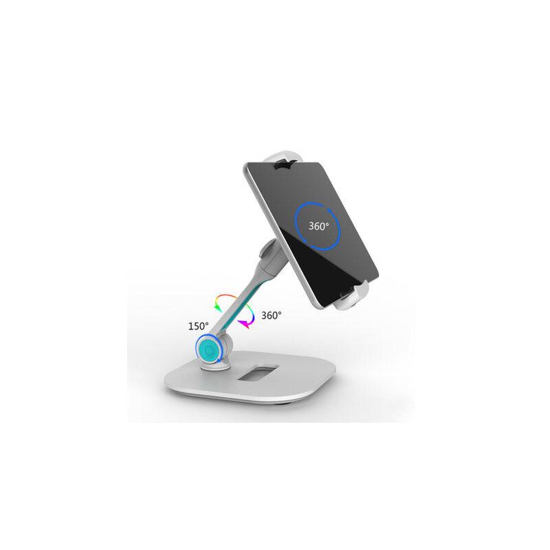 手机支架桌面 ipad平板电脑架子床头床上多功能懒人苹果抖音直播 做工精细 4寸~11寸通用