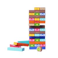 费雪彩色动物层层叠FP1017抽抽乐积木 3-6周岁儿童宝宝早教益智玩具
