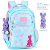 小学生书包女童1-3-5年级英国菲比艾妮6-12女孩儿童休闲双肩背包