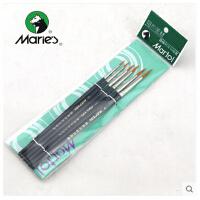 马利G1206套装尼龙勾线笔 丙烯/油画勾线画笔 勾线笔