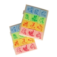创意可爱 橡皮擦 十二生肖橡皮擦 学生奖品 小礼品 一小盒12个十二个生肖