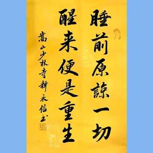 第九十十一十二届全国人大代表,少林寺方丈释永信(睡前原谅一切)