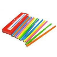 辉柏嘉三角学生铅笔 不带橡皮头三角铅笔 12只装