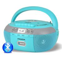 熊猫CD-880复读机dvd家用CD机学生英语U盘mp3插卡光盘播放机录音磁带胎教蓝牙收音机一体机碟片便携式播放器 蓝