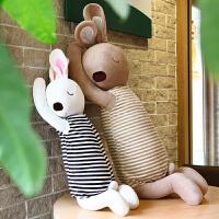 安睡兔兔子抱枕玩具陪睡娃娃婚礼生日情人节礼物女生安抚儿童