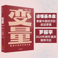包邮 变量:推演中国经济基本盘(罗振宇2020年跨年演讲推荐书目)