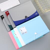 风琴包 韩国学生多层文件袋资料夹手提事务包A4