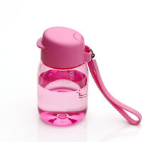 [当当自营]特百惠新品 嘟嘟企鹅杯350ML随手杯便携防漏迷你学生儿童塑料水杯 粉色