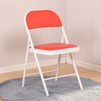 简易凳子靠背椅子家用折叠椅子便携餐椅办公椅会议椅电脑椅培训椅