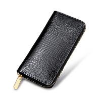 新款手拿钱包女士长款拉链大钞夹牛皮手提女款女式钱夹潮