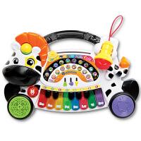 VTech伟易达小斑马电子琴 儿童电子琴带麦克风钢琴音乐玩具礼物