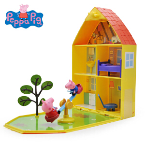 小猪佩奇peppapig粉红猪小妹佩佩猪过家家玩具花园玩具屋