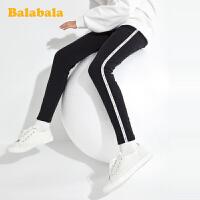 巴拉巴拉女童打底裤儿童裤子2020新款春装童装中大童运动裤弹力潮