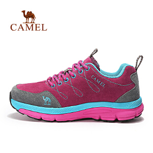 camel骆驼户外女款徒步鞋 防滑减震耐磨户外鞋