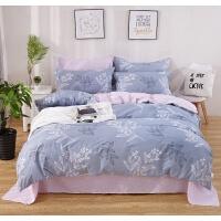 夏季床上四件套全棉纯棉2米床单被套18米20x23m22x24被罩 2.2m(被套220x240cm 床单240x26